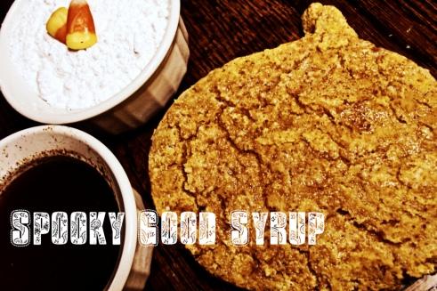 Pumpkin flavor syrup