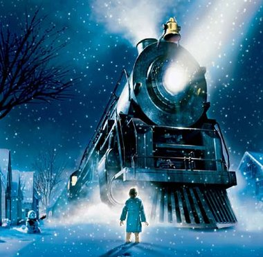 The Polar Express With Healthy Hot Cocoa